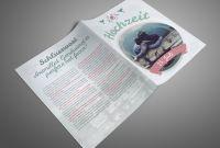 Adobe Indesign Brochure Templates Awesome Hochzeitszeitung Zeitung Selbst Gestalten Indesign Tutorials De