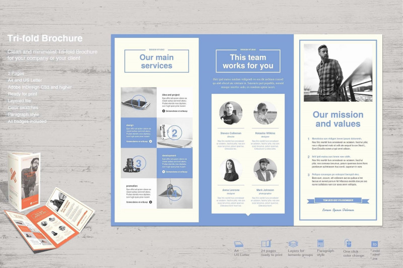 Ai Brochure Templates Free Download Best 011 Indesign Business Card Templates New Folded Cards Psd Ai Fold