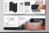 Architecture Brochure Templates Free Download New Business Templates for Tri Fold Square Design Brochures Leaflet