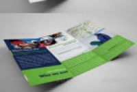 Brochure 3 Fold Template Psd Awesome Minimalist and Trifold Corporate Brochure Templates
