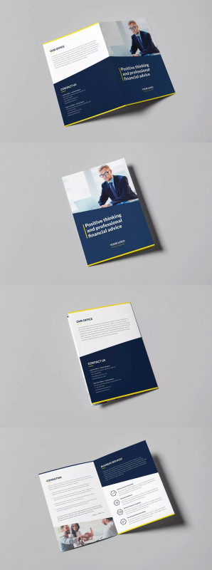 Brochure 3 Fold Template Psd New A4 Fold Brochure Template