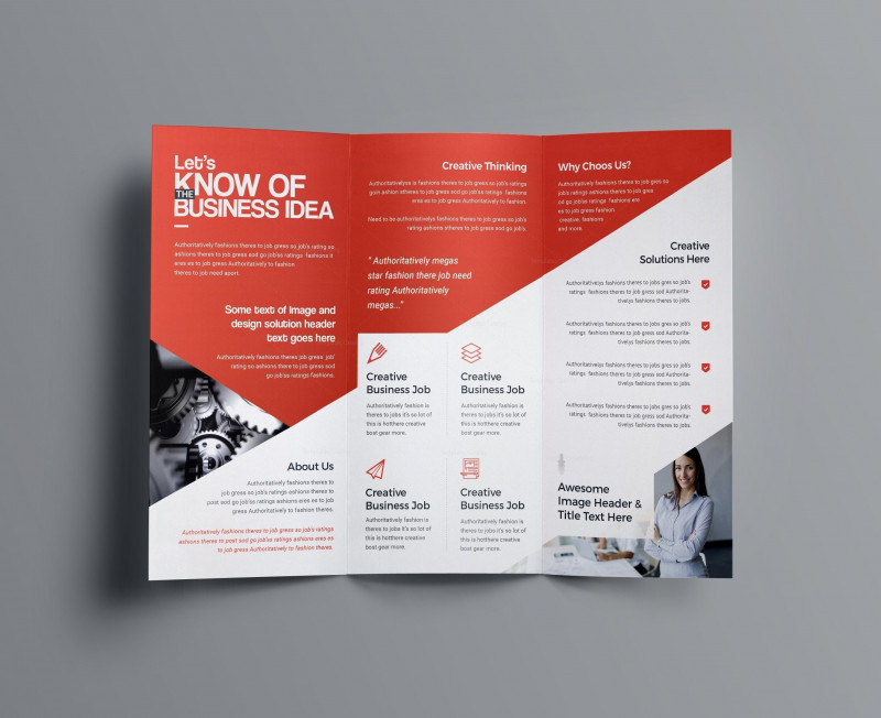 Brochure 4 Fold Template Awesome 001 Brochure Templates Free Download Template Ideas Business Psd