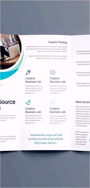 Brochure 4 Fold Template Awesome 10 Flyer Word Vorlage Bvbdqb Tippsvorlage