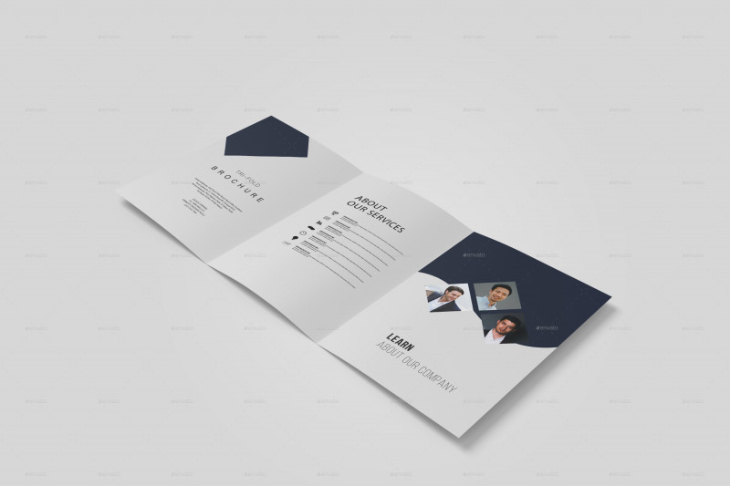 Brochure 4 Fold Template Best A5 Trifold Brochure Mockup By Witchdoctors Graphicriver