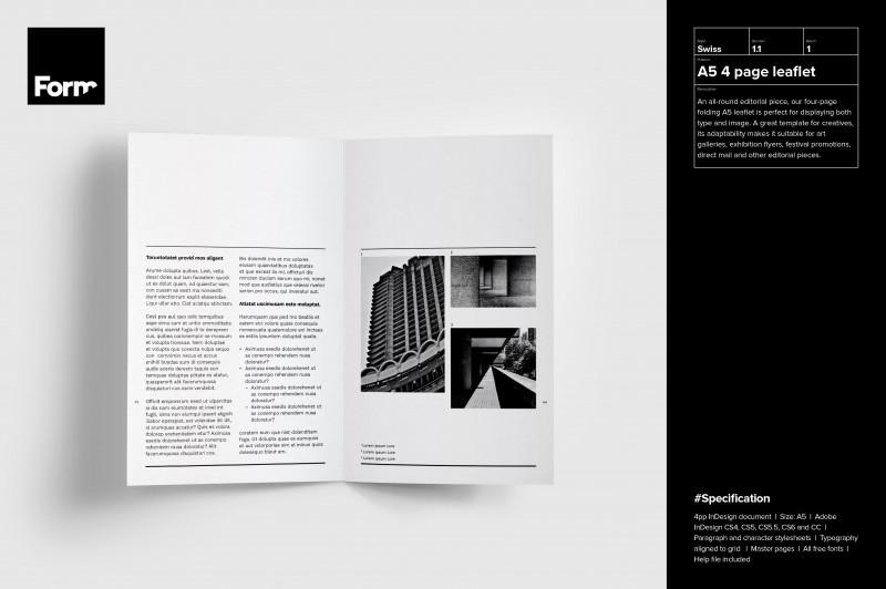 Brochure 4 Fold Template New 4 Page A5 Leaflet Ampproacrobatcc Design Inspiration Ideas