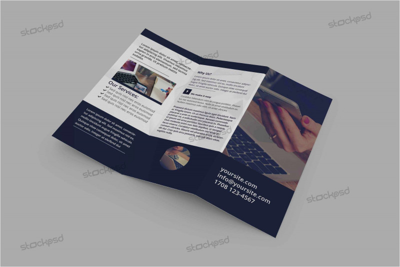 Brochure Folding Templates Awesome Trifold Brochure Design Table De Tri Table A Pizza Beau Table De