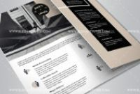Brochure Psd Template 3 Fold New Business Free Tri Fold Brochure Psd Template By Elegantflyer