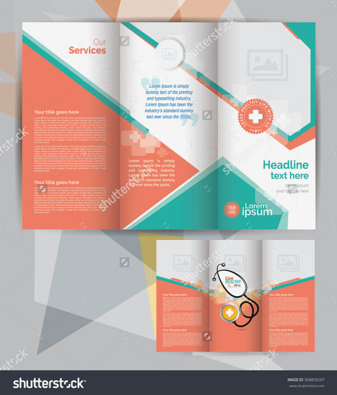 Brochure Template Illustrator Free Download Awesome Tri Fold Brochure Vector At Getdrawings Com Free For Personal Use