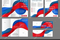 Brochure Template Illustrator Free Download Best Set Of Colored Abstract Brochure Template Stock Vector A Maria Lh