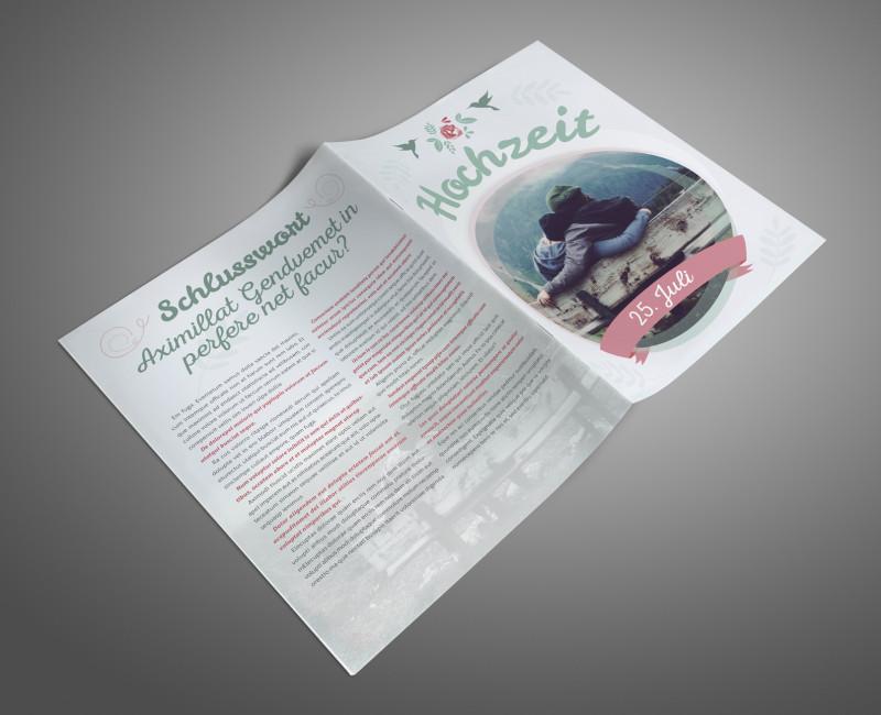 Brochure Template Indesign Free Download Awesome Hochzeitszeitung Zeitung Selbst Gestalten Indesign Tutorials De