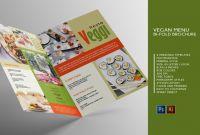 Brochure Templates Ai Free Download Best Vegan Menu Bifold Brochure A3 Ai Psd Templates