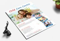 Brochure Templates for School Project Awesome 25 Beautiful Free Paid Templates for Daycare Flyers