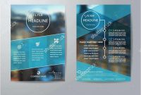 Cleaning Brochure Templates Free Awesome Free 51 Business Flyers Templates 2019 Free Download Template Example
