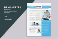 Cleaning Brochure Templates Free New Business Newsletter Template By Themedevisers On Creativemarket