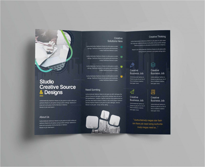 Engineering Brochure Templates Awesome Free Collection 55 Tri Fold Brochure Template 2019 Free