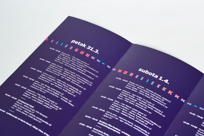 Film Festival Brochure Template Awesome Visual Identity Frka Student Film Festival On Behance
