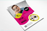 Free Church Brochure Templates for Microsoft Word Awesome Elegant Tear Off Flyer Template Word 13 Tear F Flyer Templates