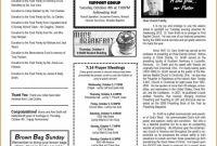 Free Church Brochure Templates for Microsoft Word New Free Church Newsletter Templates for Microsoft Word Templates