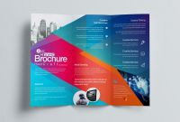 Free Online Tri Fold Brochure Template Best Excellent Professional Corporate Tri Fold Brochure Template