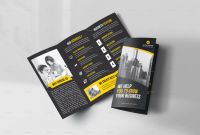 Free Tri Fold Business Brochure Templates Awesome 45 Premium Ree Psd Professional Bi Fold and Tri Fold Brochure