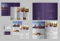 Free Tri Fold Business Brochure Templates Awesome Set Of Brochures Stationery 01 Brochure Templates Creative Market