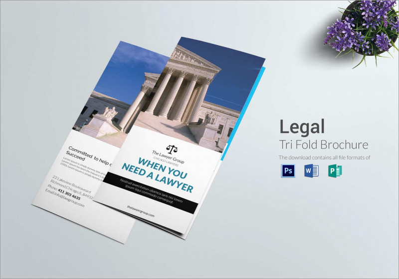 Gate Fold Brochure Template Indesign New Lovely Free Legal Brochure Templates Best Of Template