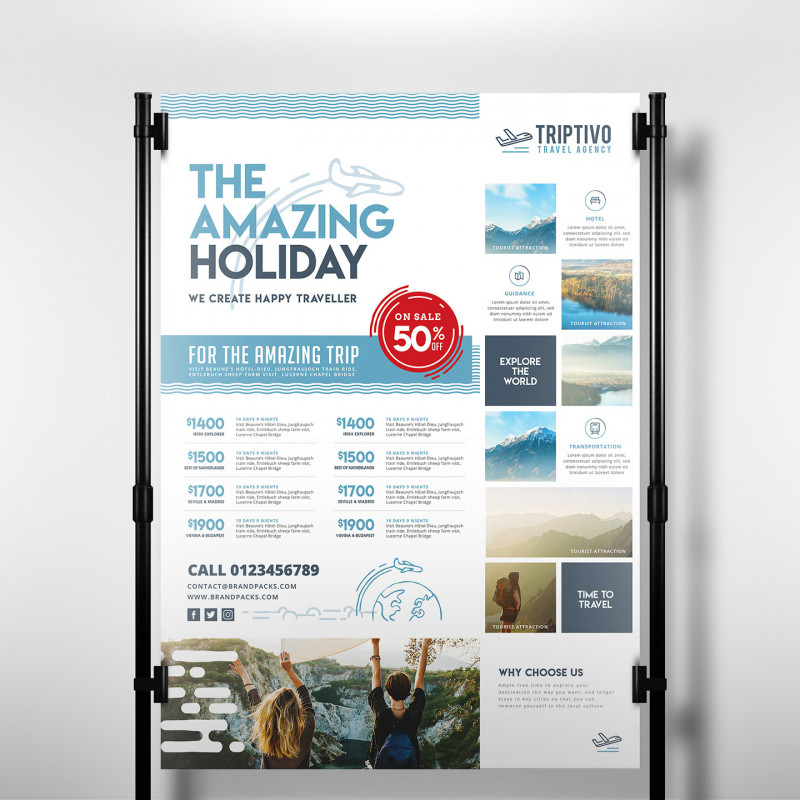 Hotel Brochure Design Templates Awesome Travel Company Templates Pack By Brandpacks Brandpacks