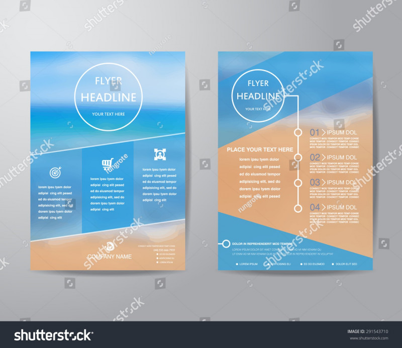 Letter Size Brochure Template Awesome A4 Size Brochure Design