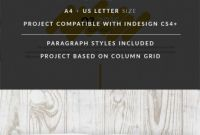 Letter Size Brochure Template Best Business Proposal Template On Behance