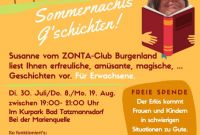 Membership Brochure Template New events Zontaburgenlands Webseite
