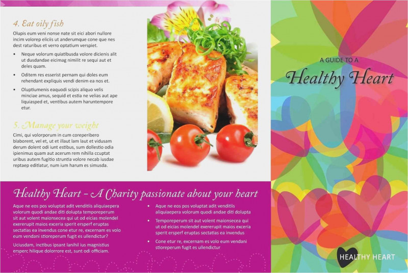 Nutrition Brochure Template Best Free Download 56 Free Bi Fold Brochure Template Professional Free