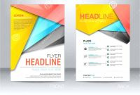 Nutrition Brochure Template Best Tri Fold Flyer Template Stunning Corporate Trifold Brochure
