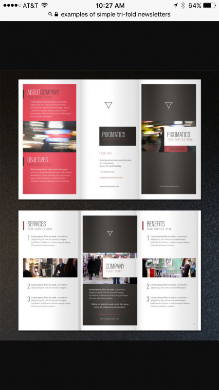 One Page Brochure Template Best Pin By Nitiya On Design Brochure Design Folder Design