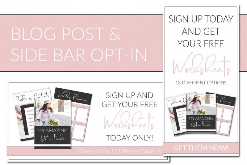 Online Brochure Template Free Best Indesign Opt In Freebie Templates Onlineentrepreneursoffering