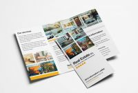 Real Estate Brochure Templates Psd Free Download Best 014 Template Ideas Free Photoshop Brochure Templates Real Estate