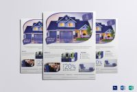 Real Estate Brochure Templates Psd Free Download Best 015 Real Estate Brochure Flyer Template Design with Vector Ideas