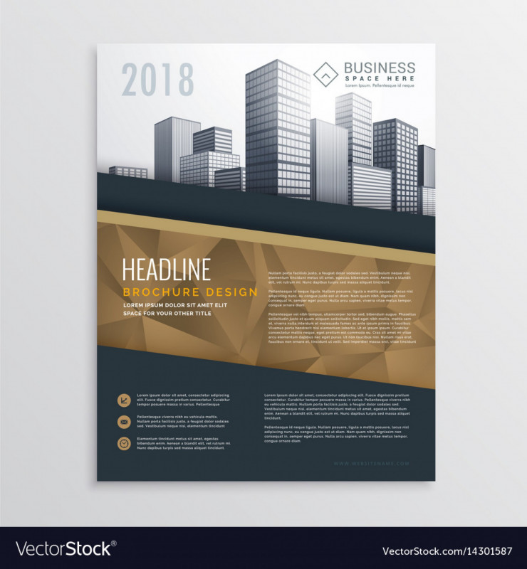 Real Estate Brochure Templates Psd Free Download New 015 Real Estate Brochure Flyer Template Design with Vector Ideas