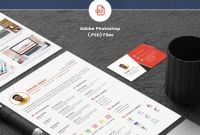Single Page Brochure Templates Psd New 75 Best Free Resume Templates Of 2019