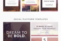 Social Media Brochure Template Awesome social Media Design Templates forolab4 Co