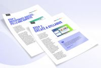 Travel Brochure Template For Students New Resources Overview Webinars White Papers And Videos On24