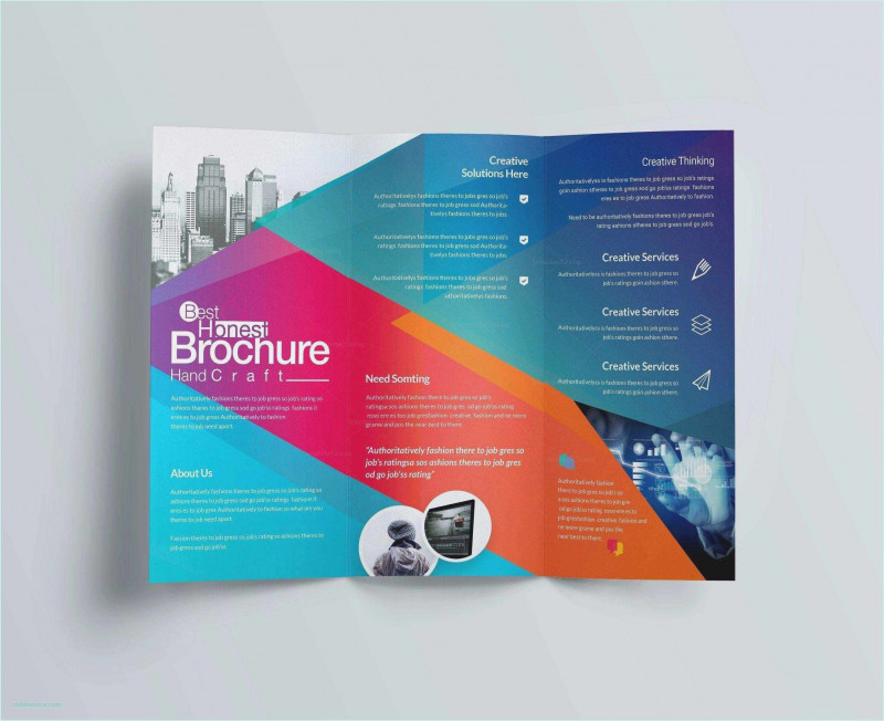 Travel Brochure Template Google Docs Awesome Free Collection 55 Tri Fold Brochure Template 2019 Free