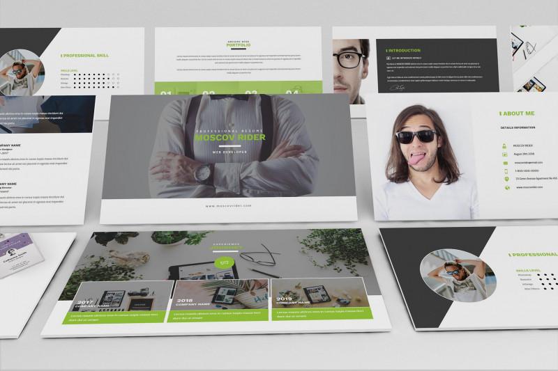 Travel Brochure Template Google Docs Awesome Resume Cv Google Slide Template Google Slides Templates Creative