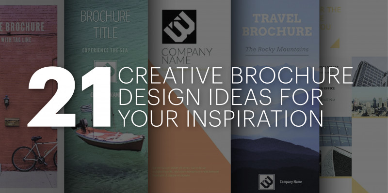 Tri Fold Brochure Ai Template Best 21 Creative Brochure Cover Design Ideas For Your Inspiration