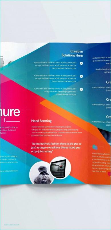 Tri Fold Brochure Template Google Docs Best Business Card For Job Seekers Templates Paramythia
