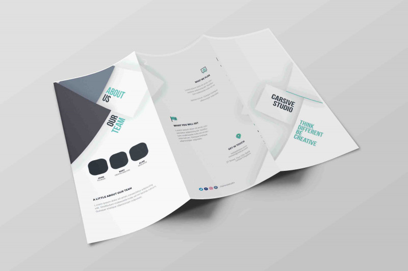 Tri Fold Brochure Template Illustrator Free Awesome Tri Fold Brochure Vector At Getdrawings Com Free For Personal Use