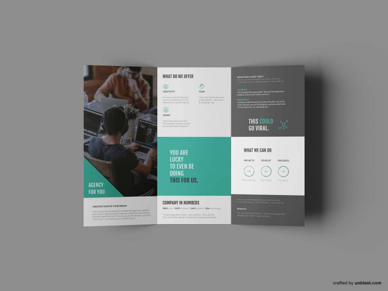 Tri Fold Brochure Template Illustrator Free New Tri Fold Brochure Ai Template