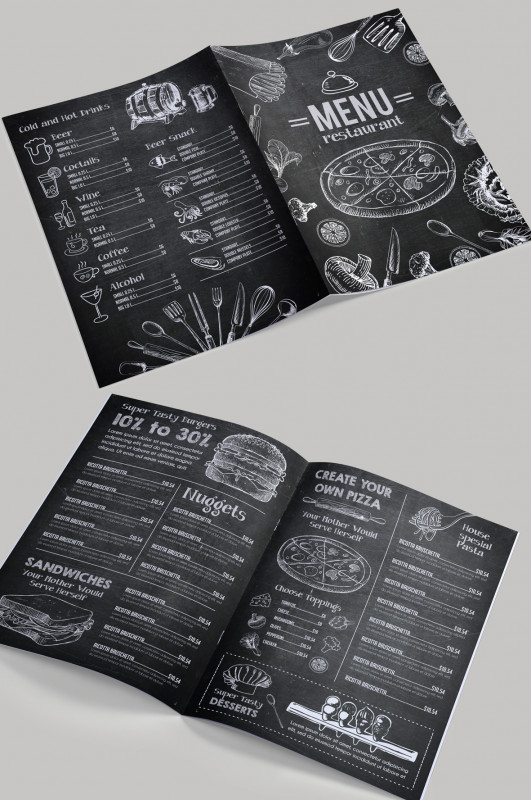 Two Fold Brochure Template Psd Awesome 12 attention Grabbing Bi Fold Brochure Free Psd Templates
