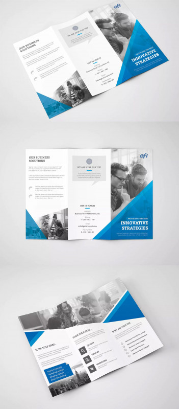 Two Fold Brochure Template Psd New Free Printable Tri Fold Pamphlet Template 1486