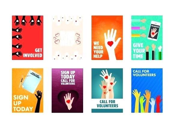 Volunteer Brochure Template Awesome Volunteer Brochure Template
