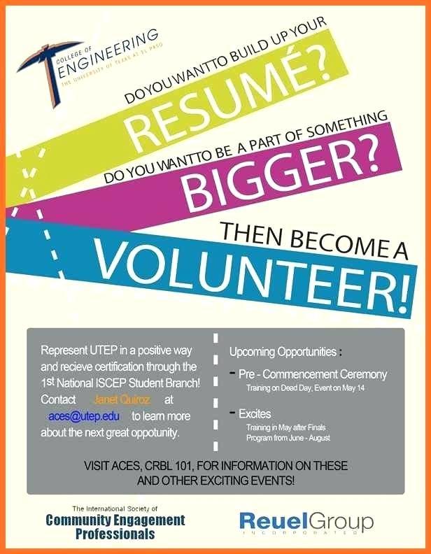 Volunteer Brochure Template New Volunteer Brochure Template Examples Fitness Trainer Flyer Ad On